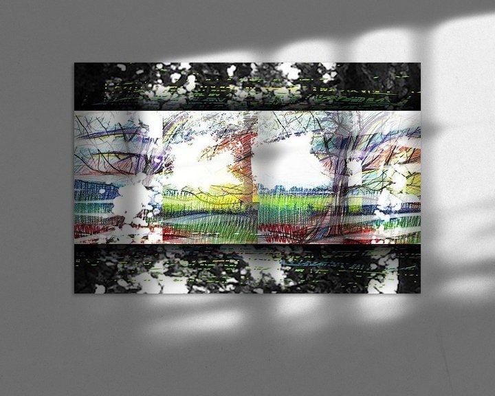 Beispiel: Bäume in Bewegung von ART Eva Maria
