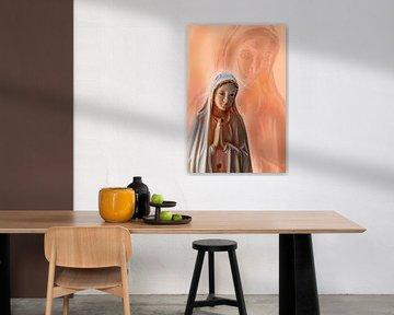 Mother Maria praying