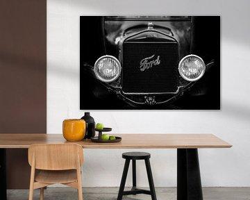 Zwartwit Ford von Steven Langewouters
