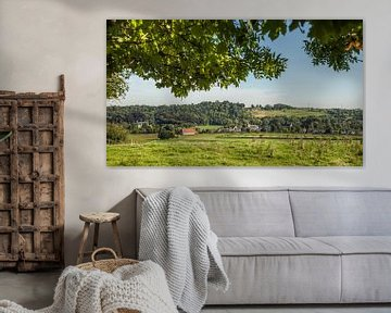 Panorama Oud- Valkenburg van John Kreukniet