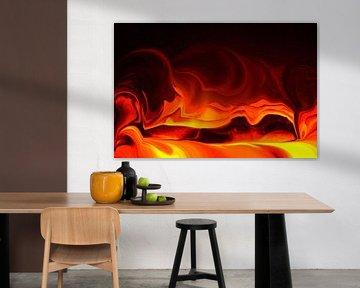 Brandend verlangen van Johan Arts