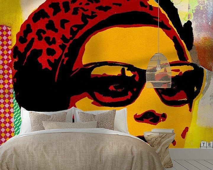 Sfeerimpressie behang: Sophia forever van Mouse and House