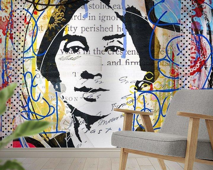Sfeerimpressie behang: Emily van Mouse and House