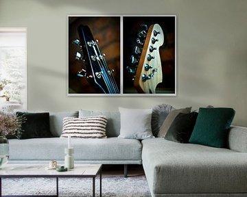 Gitarre / Wirbel / Saiten von Norbert Sülzner