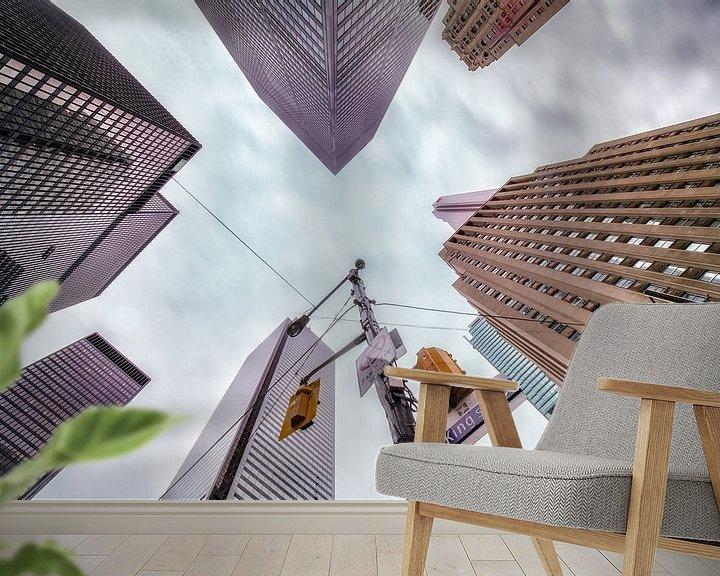 Impression: Skyscrapers lookup, Toronto sur Reinier Snijders