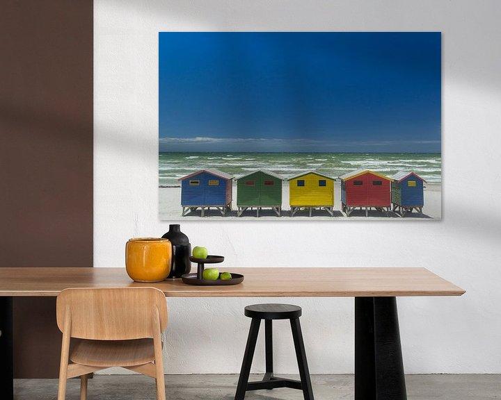 Beispiel: Bunte Häuser von Katrin Engl