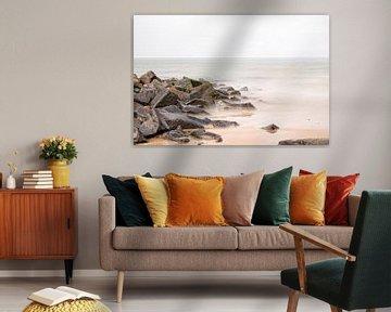 Rocks in das Wattenmeer .. von Miranda van Hulst