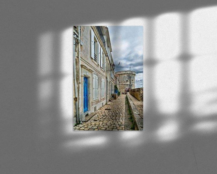 Sfeerimpressie: Rue sur les Murs in La Rochelle van Don Fonzarelli
