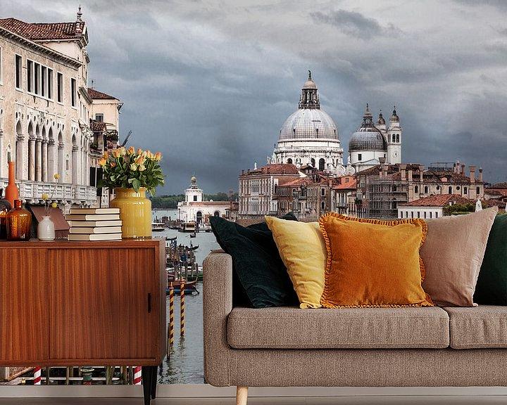 Sfeerimpressie behang: Venetië van Wim Verhoeve