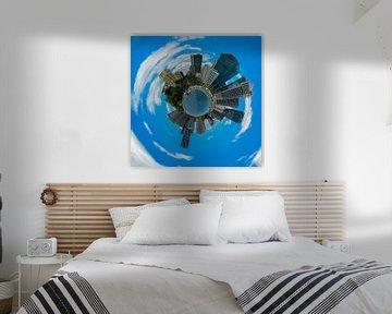 Kleine Planeet van Brisbane, Australië van Rietje Bulthuis
