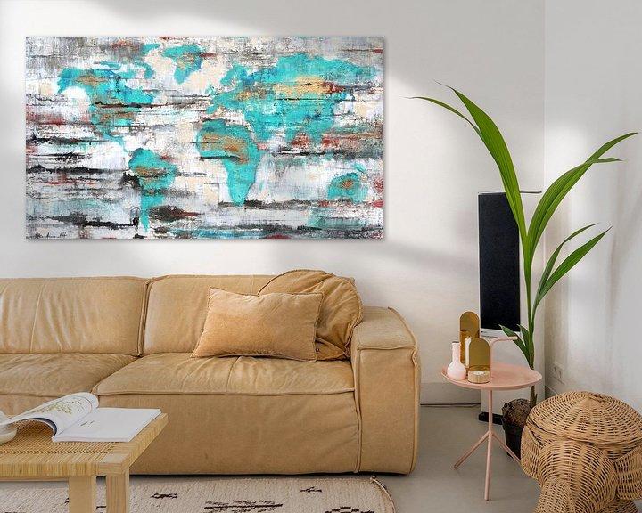 Sfeerimpressie: Worldmap van Atelier Paint-Ing