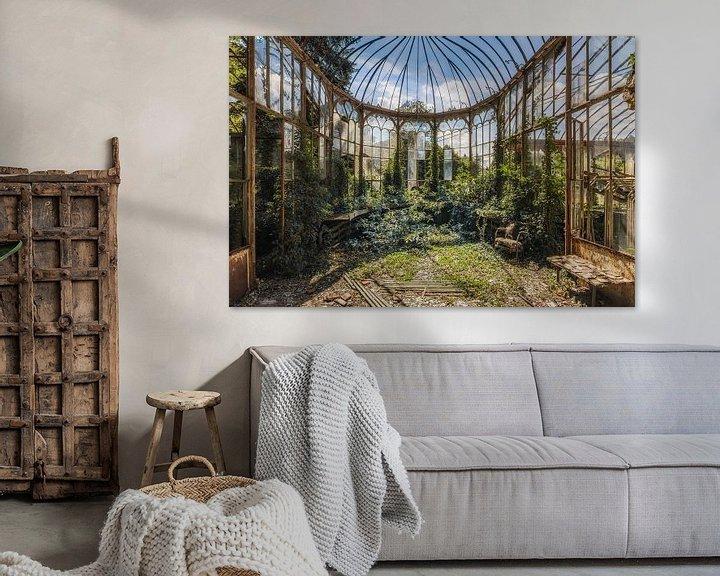 Sfeerimpressie: Tuinkamer van Wim van de Water