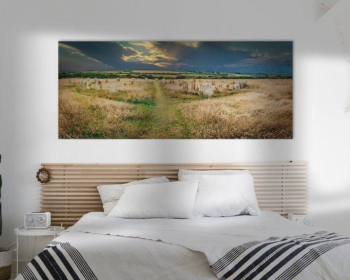 Beispiel: Steinkreis in Cornwall, Südengland von Rietje Bulthuis