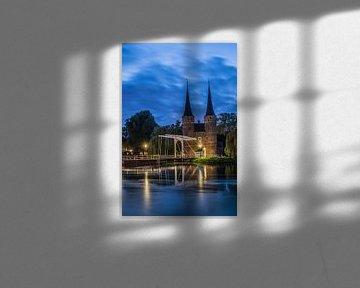 Delft Oostpoort 2 van John Ouwens