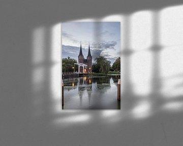 Delft Oostpoort 1 van John Ouwens