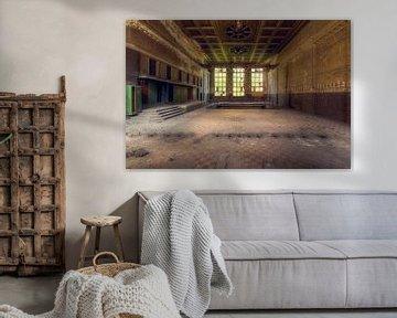 Verlassene Fabrikhalle von Roman Robroek