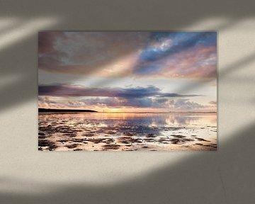 Sunny Sunset von Ton Drijfhamer