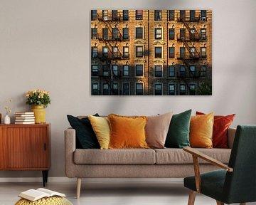 Karakteristieke gevel New York City