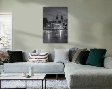 Oostpoort Delft, zwart-wit - 5 van Tux Photography
