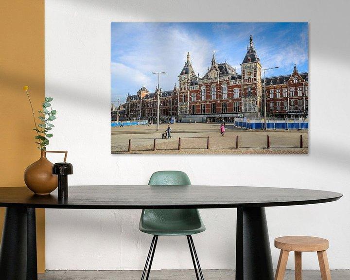 Sfeerimpressie: Amsterdam Centraal Station van Fotografie Jeronimo