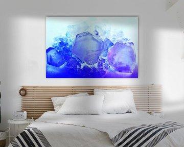 Fluoreszierende Kristalle  von Gera Wijlens