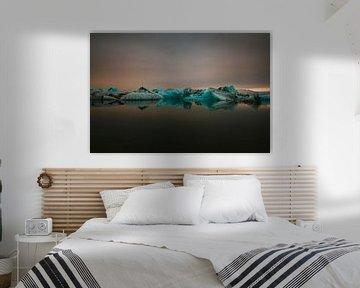 Gletschersee von Maikel Claassen Fotografie