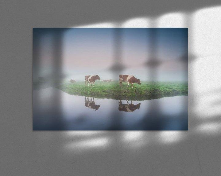 Sfeerimpressie: koeien in de Eempolder bij Eemnes van Arjan Keers