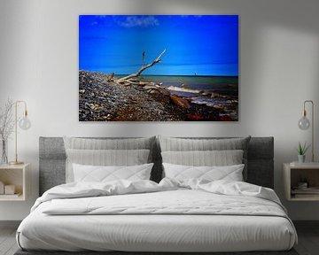 Strandgezicht van Jeroen Ijsselmonde