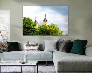 Prachtige kasteel van Schwerin von Jan Brons