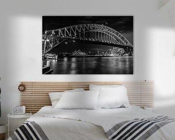 Impressive Harbour Bridge , Sydney , Australië #4 van Jan-Hessel Boermans