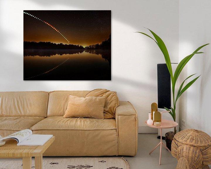 Beispiel: Mondfinsternis Serie von Nando Harmsen