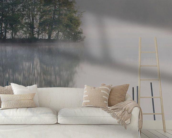 Sfeerimpressie behang: Vroege morgen aan het water van Sander Strijdhorst