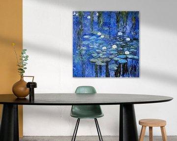 Seerosen a la Monet von Joachim G. Pinkawa