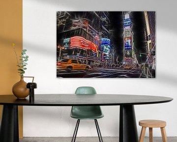 Times Square New York City sur Joachim G. Pinkawa