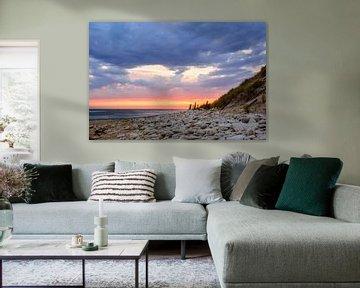 Zonsondergang op Ile d' Oléron van 7Horses Photography