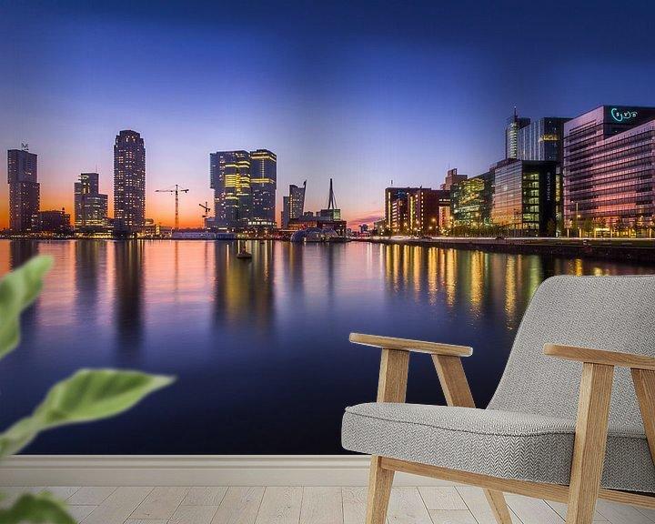 Impression: Rotterdam de Kop van Zuid sur Evert Buitendijk