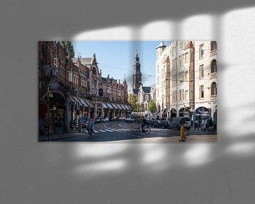 Raadhuisstraat met Westerkerk von Tom Elst