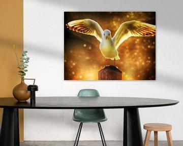 Spread your wings  van Frank Bruins