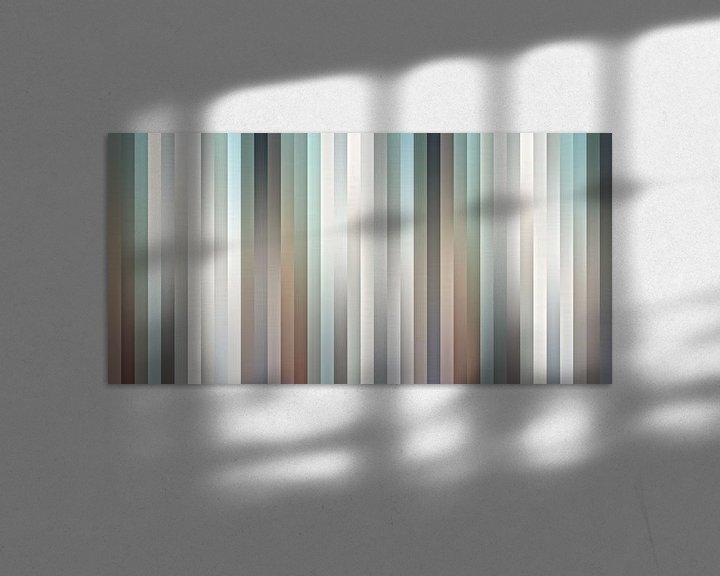 Sfeerimpressie: Satin Shutters van Wil van der Velde/ Digital Art