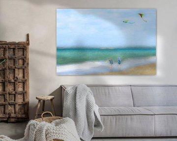 Drachenfliegen sur Wil van der Velde/ Digital Art