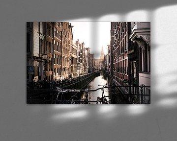 Oudezijds Kolk, gracht in Amsterdam van Hans Wijnveen