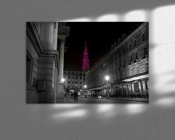 Brüssel bei Nacht (2) von J Y