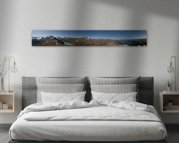 Panorama  van Zwitserse Alpen 360° van Manuel Declerck