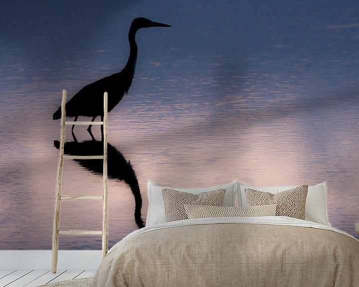 Impression: Sunrise of the Blue Heron  sur Harald Harms