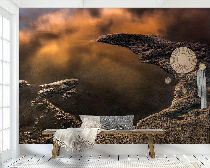 Sfeerimpressie behang: A view on Mars van Harald Harms