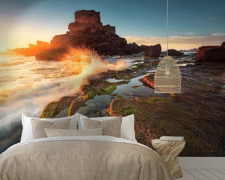 Beispiel fototapete: Goldig und wild (Praia de Castelejo / Algarve) von Dirk Wiemer