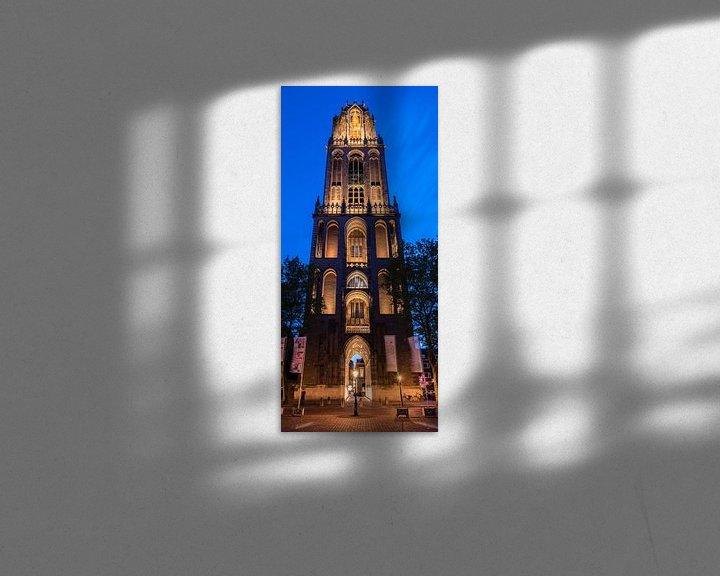 Beispiel: Dom-Turm, Utrecht von John Verbruggen