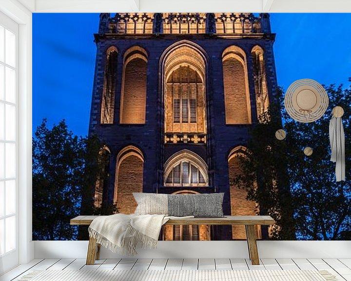 Beispiel fototapete: Dom-Turm, Utrecht von John Verbruggen