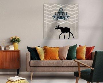 Ein Elch findet nach Hause von Pia Schneider