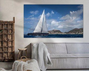 Sint Maarten 4 van Laurens Morel